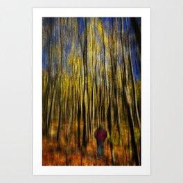 Woodsy Walk 2 Art Print
