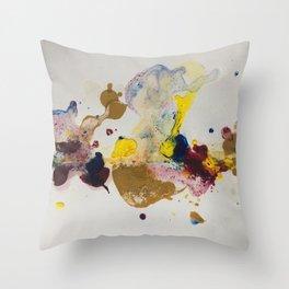 Colours' party Throw Pillow