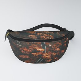 red forest in north america Fanny Pack