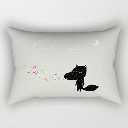 The Happy Sound Rectangular Pillow