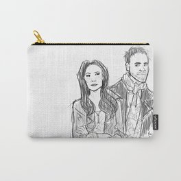 elementary: holmes and watson (sketch) Carry-All Pouch