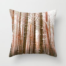 Towering Throw Pillow