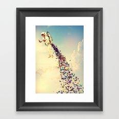 Leave It All Behind Framed Art Print