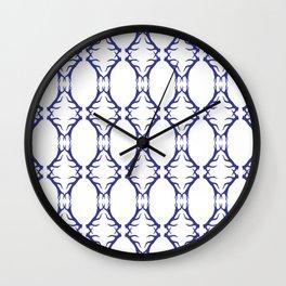 Modern Antler:  Blue Wall Clock