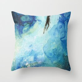 Deep Water Throw Pillow