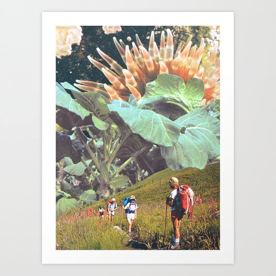 Mind Escape Art Print