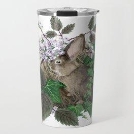 Brush Bunny Travel Mug
