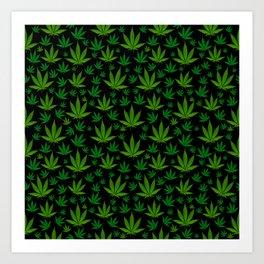 Infinite Weed Kunstdrucke