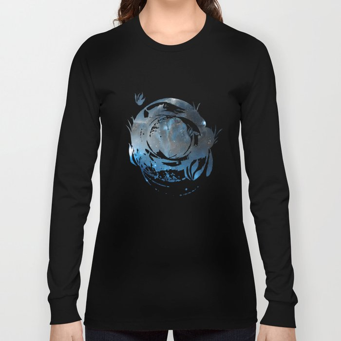 Ice, Dust and a Billion of Stars Long Sleeve T-shirt