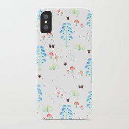 Monster Print iPhone Case