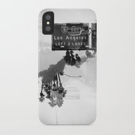 Landscapes (35mm Double Exposure) iPhone Case