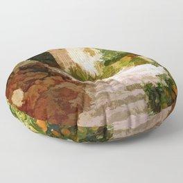 The light of Mallorca - Espana Floor Pillow