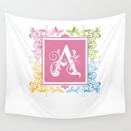 A Letter Wall Tapestry