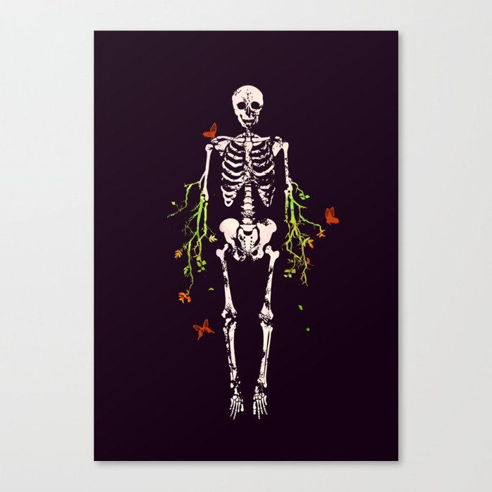 Dead is dead Canvas Print