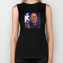 Steve Jobs: Think Different Biker Tank