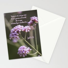 March 1 - Joel 2:13 Stationery Cards