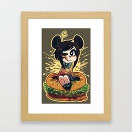 BURGZ Framed Art Print