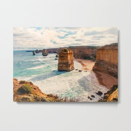 Great Ocean Road Twelve Apostles Fine Art Print  • Travel Photography • Wall Art Metal Print