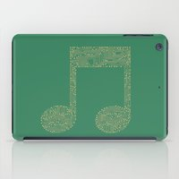 techno iPad Cases featuring Techno Music by paddyroo