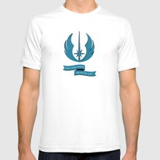 Jedi Blueprints LARGE Mens Fitted Tee White