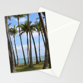 Palms in Kapa'a Stationery Cards