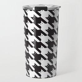 Catstooth Pattern Travel Mug