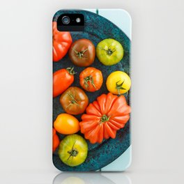 Various heirloom tomatoes iPhone Case