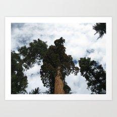 Giants Art Print
