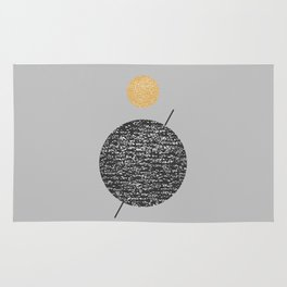 Saturn Abstract #society6 #decor #buyart Rug