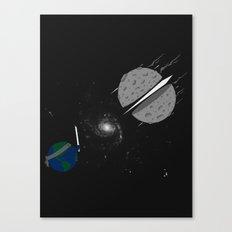 Asteroid Ninja Canvas Print