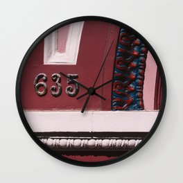 San Francisco VI Wall Clock