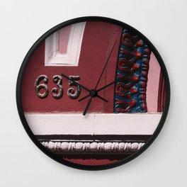 San Francisco VI Wall Clock