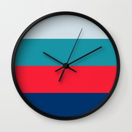 Four Brights Wall Clock