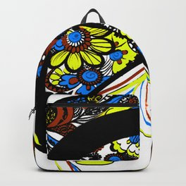 Floral Silhouette YBB Backpack