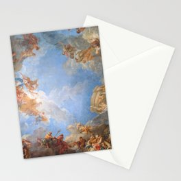 Fresco in the Palace of Versailles Stationery Cards