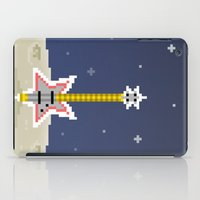 bass iPad Cases featuring Space Bass by Dean Bottino