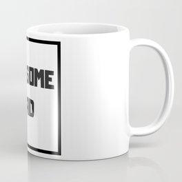 Awesome Dad #minimalism Coffee Mug