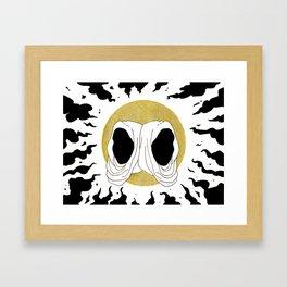two hoods Framed Art Print
