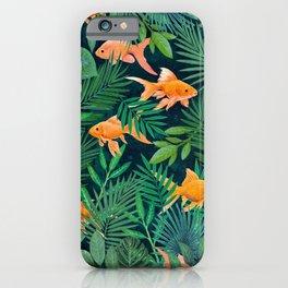 Goldfish in the Jungle iPhone Case