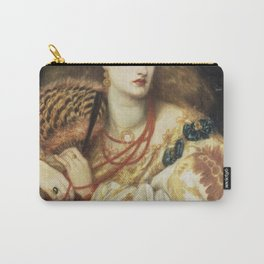 Dante Gabriel Rossetti - Monna Vanna Carry-All Pouch