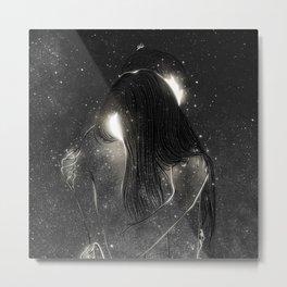 Shining souls. Metal Print