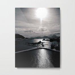UP NORTH03 Metal Print
