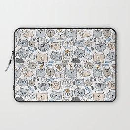 Cat love Laptop Sleeve