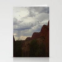 australia Stationery Cards featuring Australia by Mel Forshee