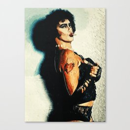 Dr Frank N Furter Canvas Print