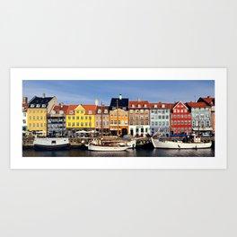 Copenhague // Copenhagen - Nyhavn Art Print