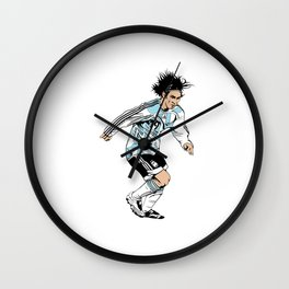 Leo Messi Wall Clock