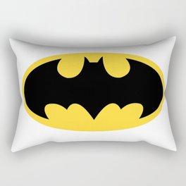 Bat-man Logo PNG Rectangular Pillow