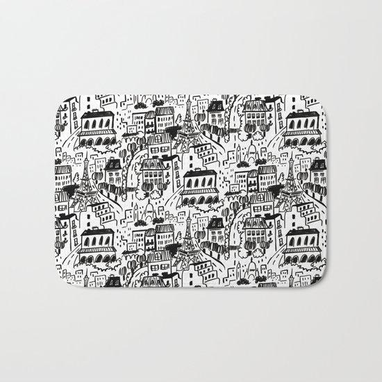 Paris Streets Bath Mat