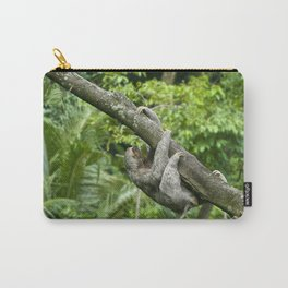 Three-toed sloth climbing tree Carry-All Pouch